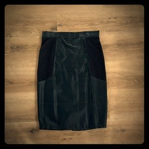 Patent Leather Pencil Skirt Size 6